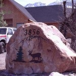 Price is $900 - $1580 for a rock sign similar to this (36