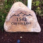 Price is $670 - $1320 for a rock sign similar to this (36
