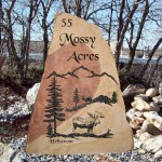 Price is $1590 - $2580 for a rock sign similar to this (42