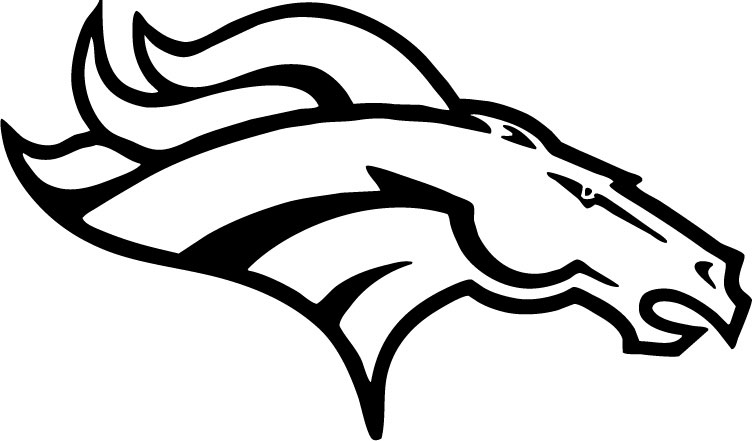It's just a picture of Sassy Coloring Pages Denver Broncos