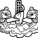 Submarine Dolphin Logo