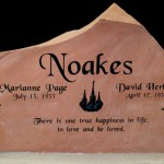 Price is $1490 to $2200 for a headstone similar in size to this one.