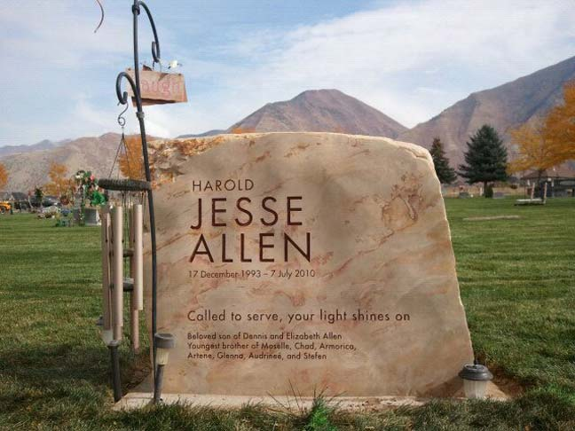 Natural Stone Headstones : Monuments headstones grave markers natural rock designs