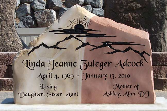 Monuments Headstones Grave Markers Natural Rock Designs