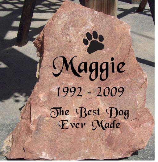 187 Pet Memorial Pet Headstones Natural Rock Designs