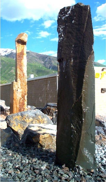 Rock Solid Concrete >> » Rock Fountain • Stone Fountain Natural Rock Designs