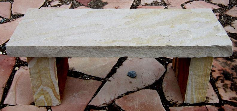 187 Stone Bench Natural Rock Designs
