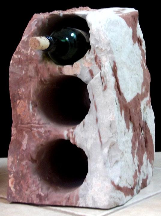 187 Counter Wine Racks Natural Rock Designs